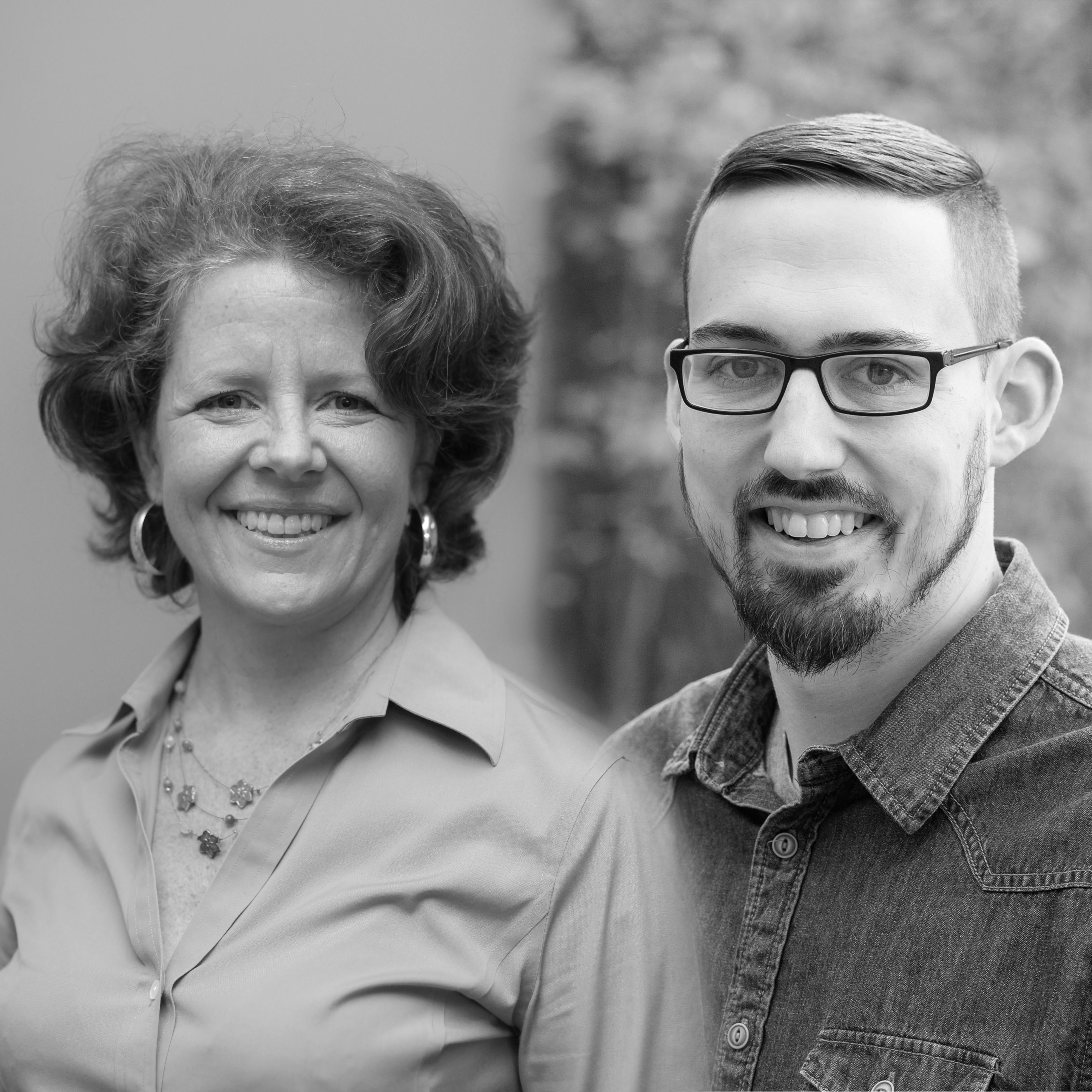 Cori Crawford Van Oss and Matthew Mott